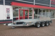 Ifor Williams GX126 tridem machinetransporter (1)