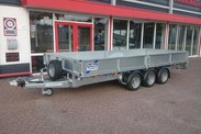 Ifor Williams LM166G3 plateauwagen (1)