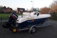 Pacific Craft 500 open + Evinrude 90 Etec (10)