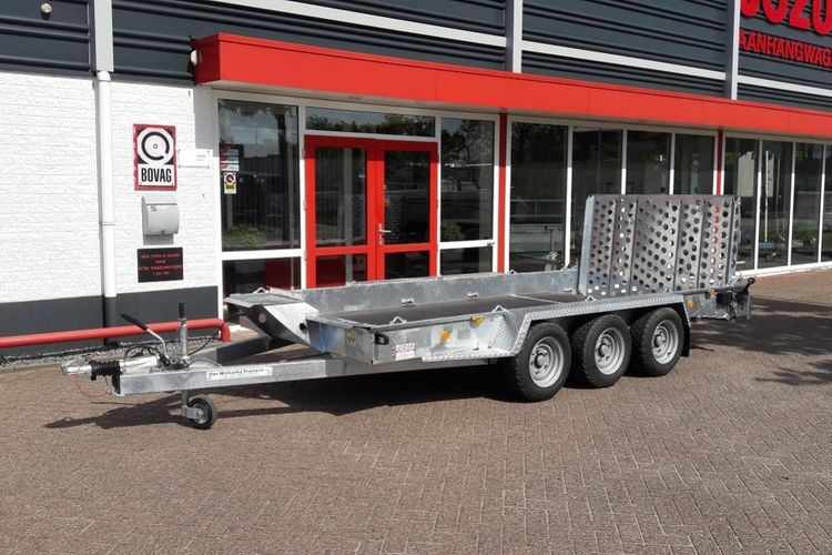 Ifor Williams GH tridem machinetransporter (1)